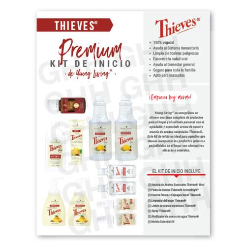 Spanish Thieves® Premium Starter Kit Flyer (PDF)
