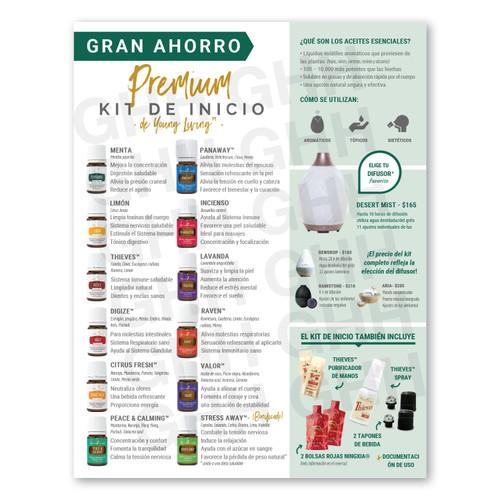 Spanish Premium Starter Kit Flyer (PDF)