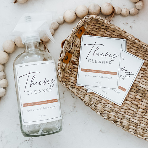 FREE Thieves Cleaner Label