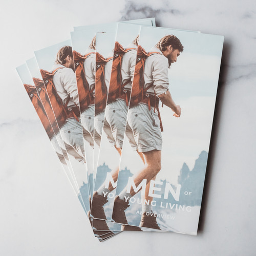 Men of Young Living Brochure Pack