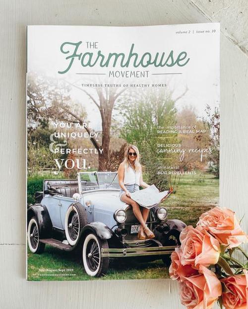 The Farmhouse Movement Magazine - Tenth Edition