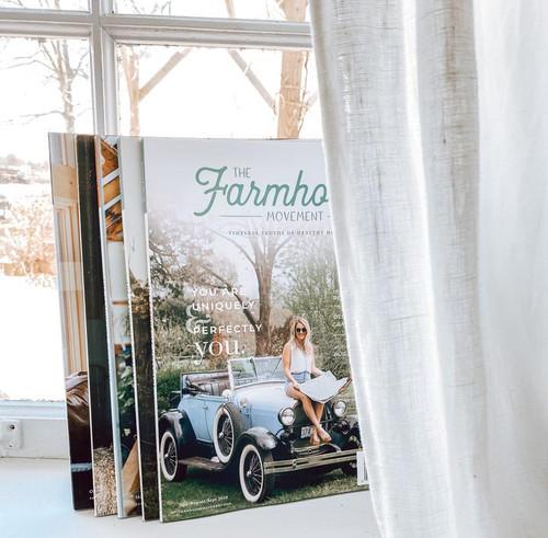 """The Farmhouse Movement Magazine - Vol. 2 """"Complete Bundle"""""""