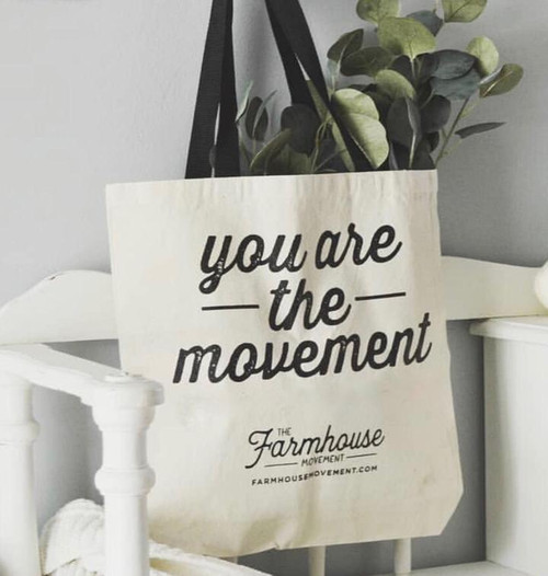 The Farmhouse Movement Tote