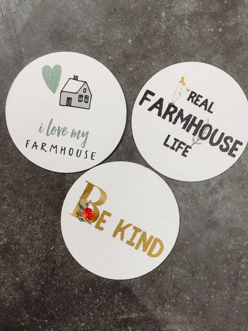 The Farmhouse Movement Coasters