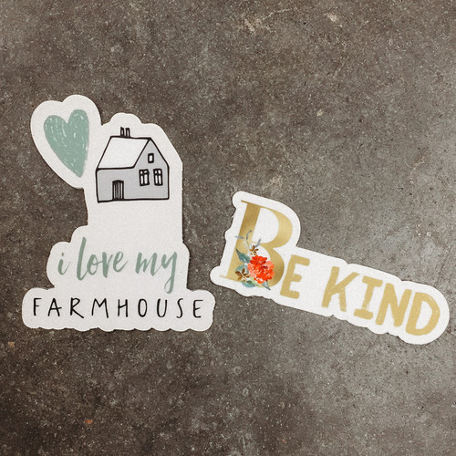 The Farmhouse Movement Stickers
