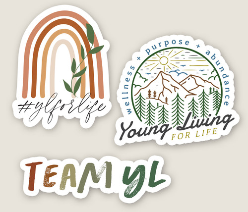 YL For Life Sticker Pack