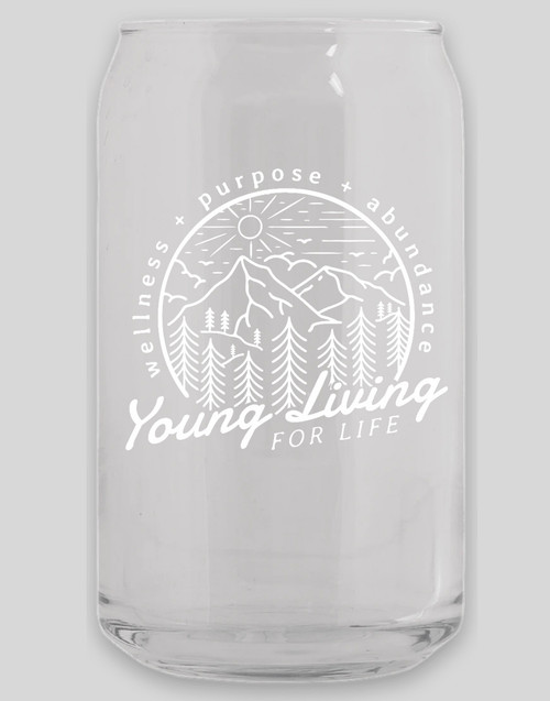 YL For Life Glass Cup