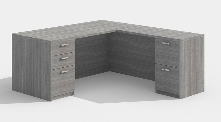 "AM-Series 66"" Executive L-Shape Desk"