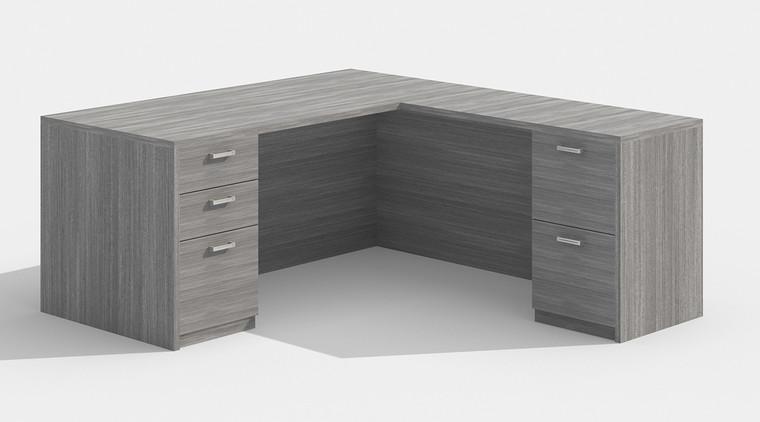 """AM-Series 66"""" Executive L-Shape Desk"""