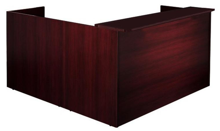 AM-Series L-Shape Reception Desk Shell