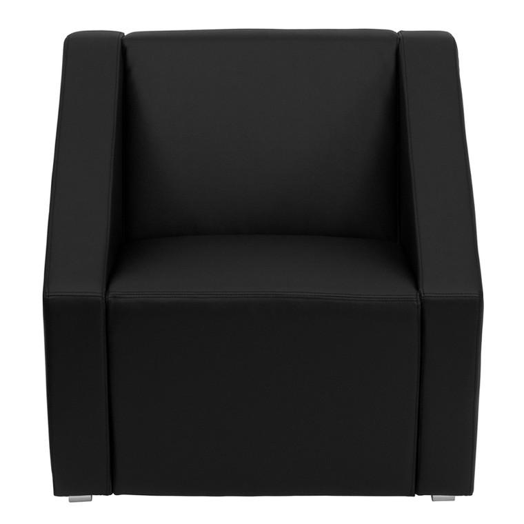 Smart Series Black Leather Lounge Chair [DXZBiSMARTiBLACK]