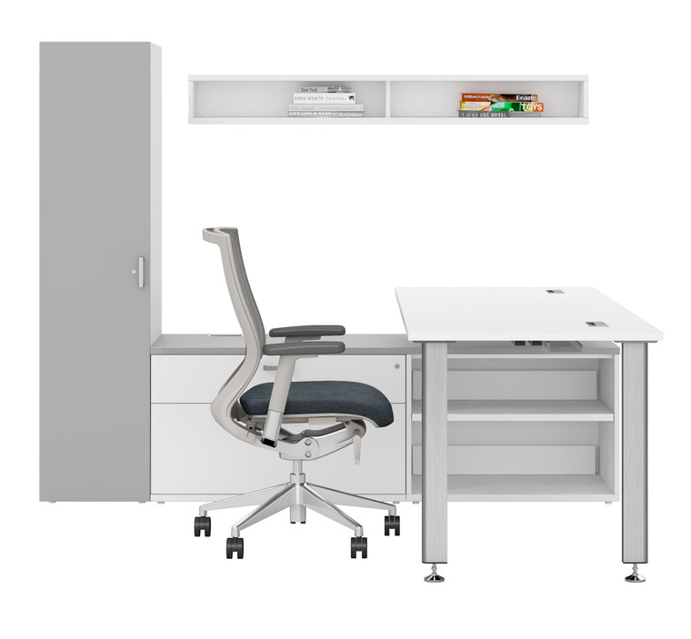 D-Series L-Workstation with Storage