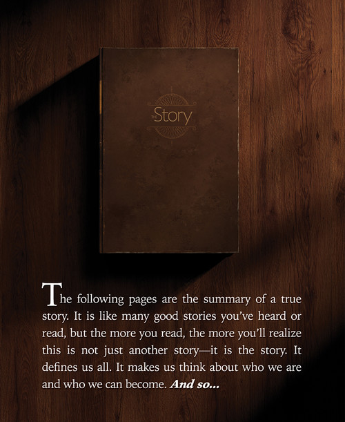 The Story Booklet 20-Pack (English, 2016)