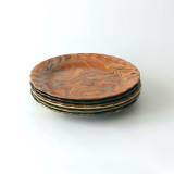 Desert plate XVIII, dish, bowl, side plate, buy Sylvie Atelier Saint Andre Perrin, Ceramic, Marbled, Handmade, Elias Mercantile