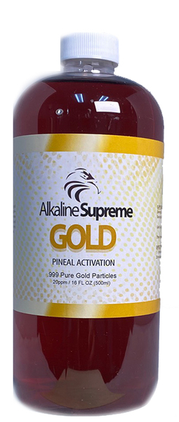 Supreme Gold - 3RD EYE / PINEAL GLAND ACTIVATION (16oz)
