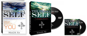 "The Hidden Self: Book, DVD & Audio CD  The Hidden Self exposes the reader to a foundation of metaphysical thought. It is a backbone of scientific-spiritual information that helps the reader understand the nature of the mind, energy and consciousness. The Hidden Self gives the theoretical support needed to apply the ""magical"" techniques and practices revealed in The Hidden Power, which is part two in this powerful series.  You will Learn:  - The difference between the personality and the Self  - The metaphysics of the observer  - How to free your mind of limitation  - The concepts of the id-entity, Christ-consciousness and the Self  The Hidden Self Collection Includes:  - The Hidden Self Book by Naazir Ra - The Hidden Self Documentary (Naazir Ra and other renown scholars) - The Hidden Self Audio CD"