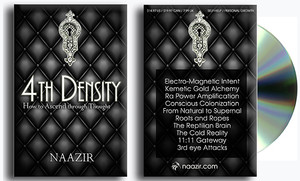 4th Density Book and DVD set by Naazir Ra