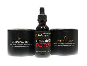Parasite Annihilation Teas + Full Body Detox Drops