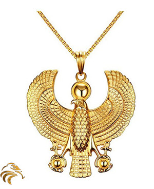 WINGS OF ASCENSION MEDALLION - 18K Gold plated - Blessed by Naazir Ra
