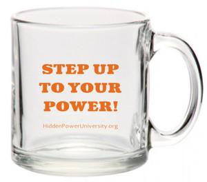 HPU STEP UP MUG - TOXIN FREE TEMPERED GLASS