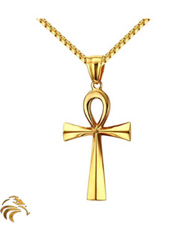 RA POWER ANKH - 18K Gold plated - Blessed by Naazir Ra