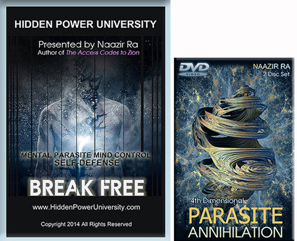 BREAK FREE: MENTAL PARASITE SELF DEFENSE 4 HR HOME STUDY COURSE