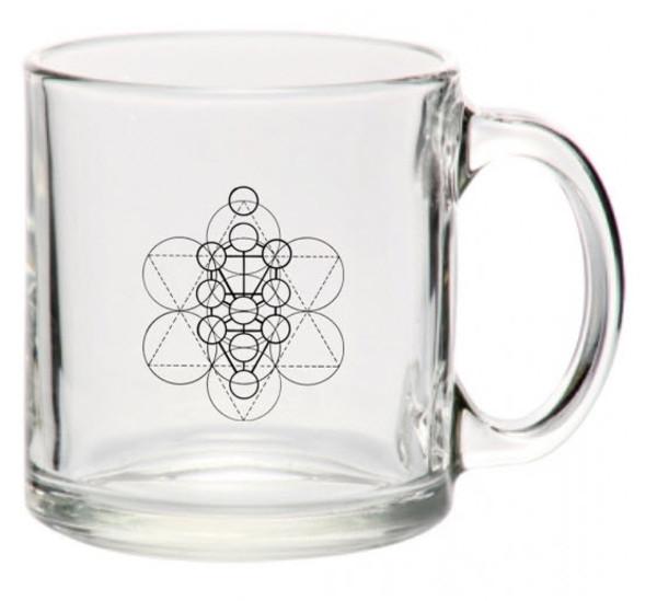 HPU MERKABA  MUG - TOXIN FREE TEMPERED GLASS