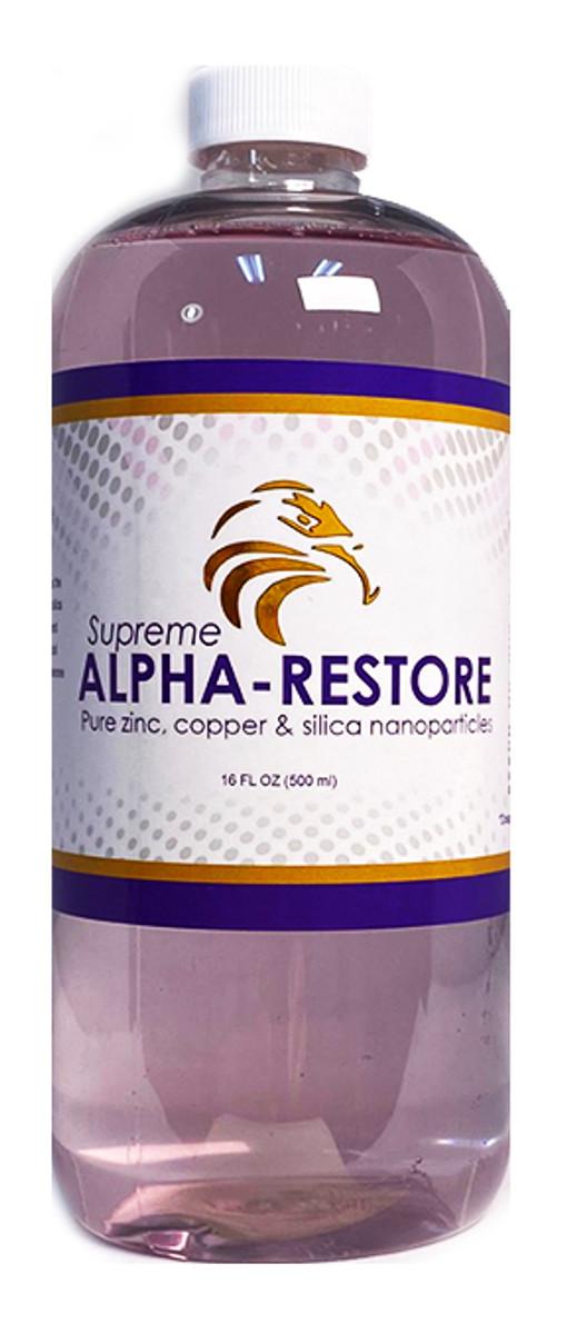 SUPREME ALPHA RESTORE WITH ZINC! IMMUNITY & RECOVERY (16oz)