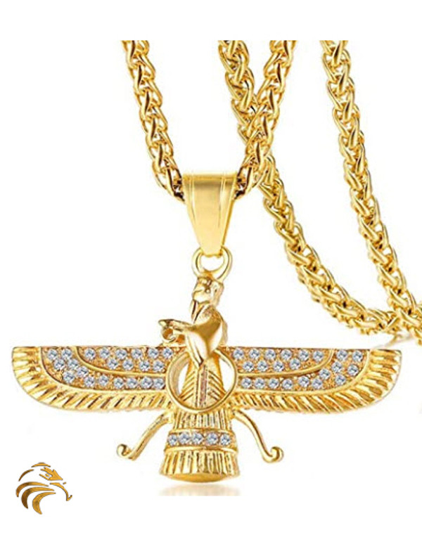 WINGED ANNUNAKI - 18K GOLD PLATED - BLESSED BY NAAZIR RA