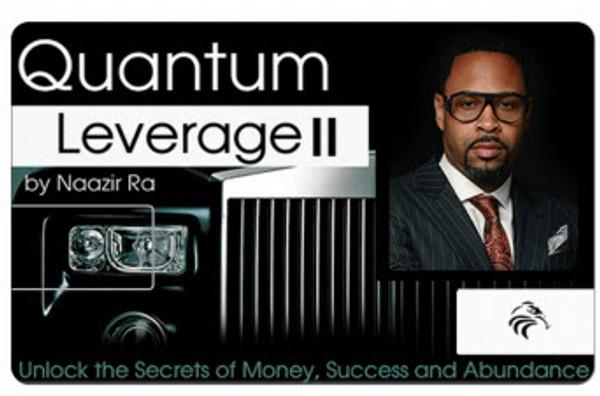 NEW! QUANTUM LEVERAGE II - ULTIMATE MAGIC REAL ESTATE INVESTING COURSE (SD CARD)