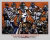 Denver Broncos Peyton Manning Super Bowl 50 Champions NFL Football Art 8x10-48x36