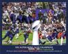 New England Patriots Super Bowl Champions Tom Brady Football Art Print 8x10 or 11x14 or 40x30 StadiumArt.com Sports Photos