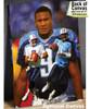 Steve McNair Tennessee Titans QB Quarterback NFL Football Art Print 8x10-48x36 2510 canvas frame example