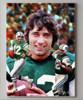 Joe Namath New York Jets QB Quarterback NFL Football Art Print 8x10-48x36 canvas frame on wall