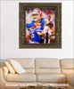 Tim Tebow Florida Gators College Football NCAA QB Quarterback framed on wall