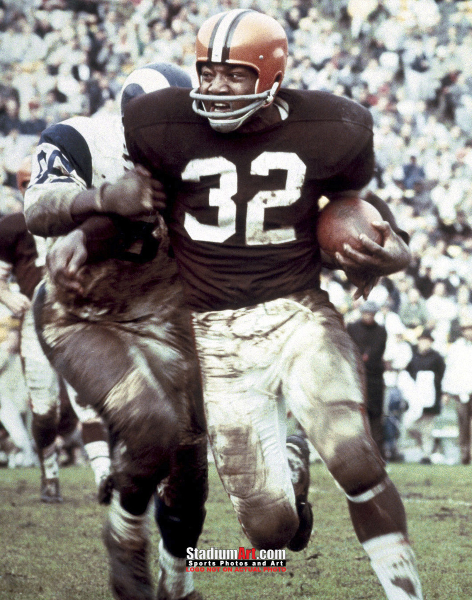 d8e8a22796c Cleveland Browns Jim Brown Football Photo Print 01 8x10-48x36. Touch to  zoom