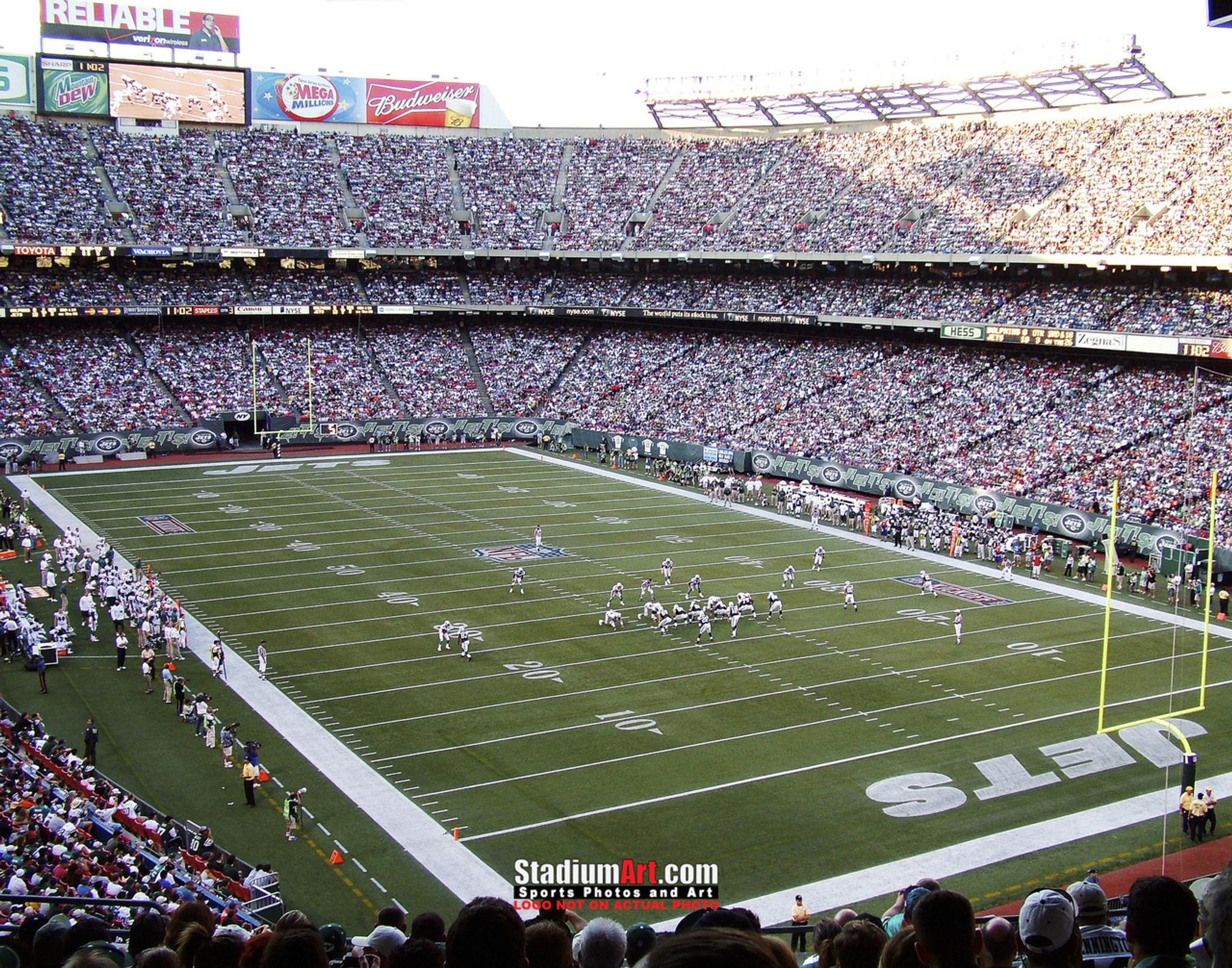 483b5760a01 New York Jets Stadium NFL Football Photo Art Print 8x10 or 11x14 or 40x30  StadiumArt.
