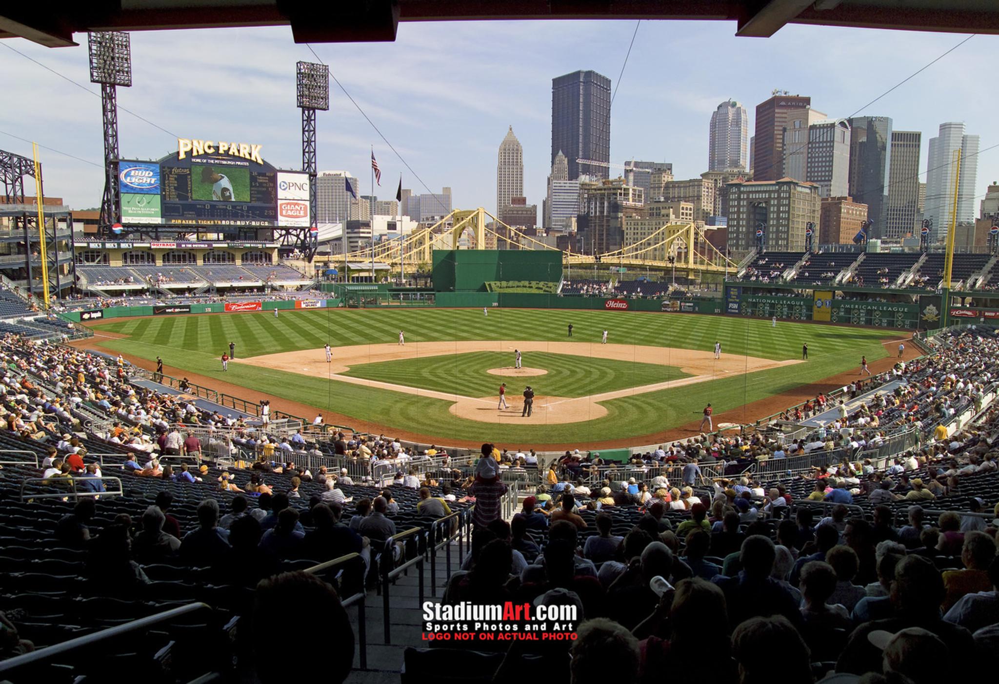 Pittsburgh Pirates Pnc Park Baseball Stadium 8x10 To 48x36 Photo 10