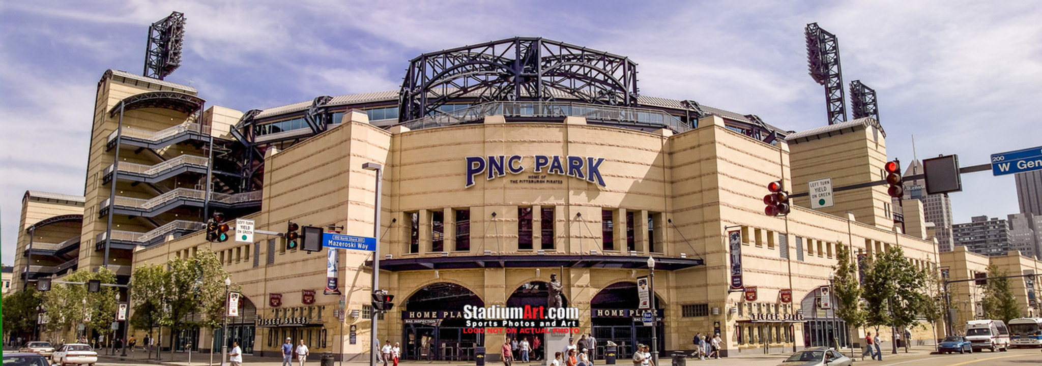 Pittsburgh Pirates Pnc Park Baseball Stadium 8x10 To 48x36 Photo 40
