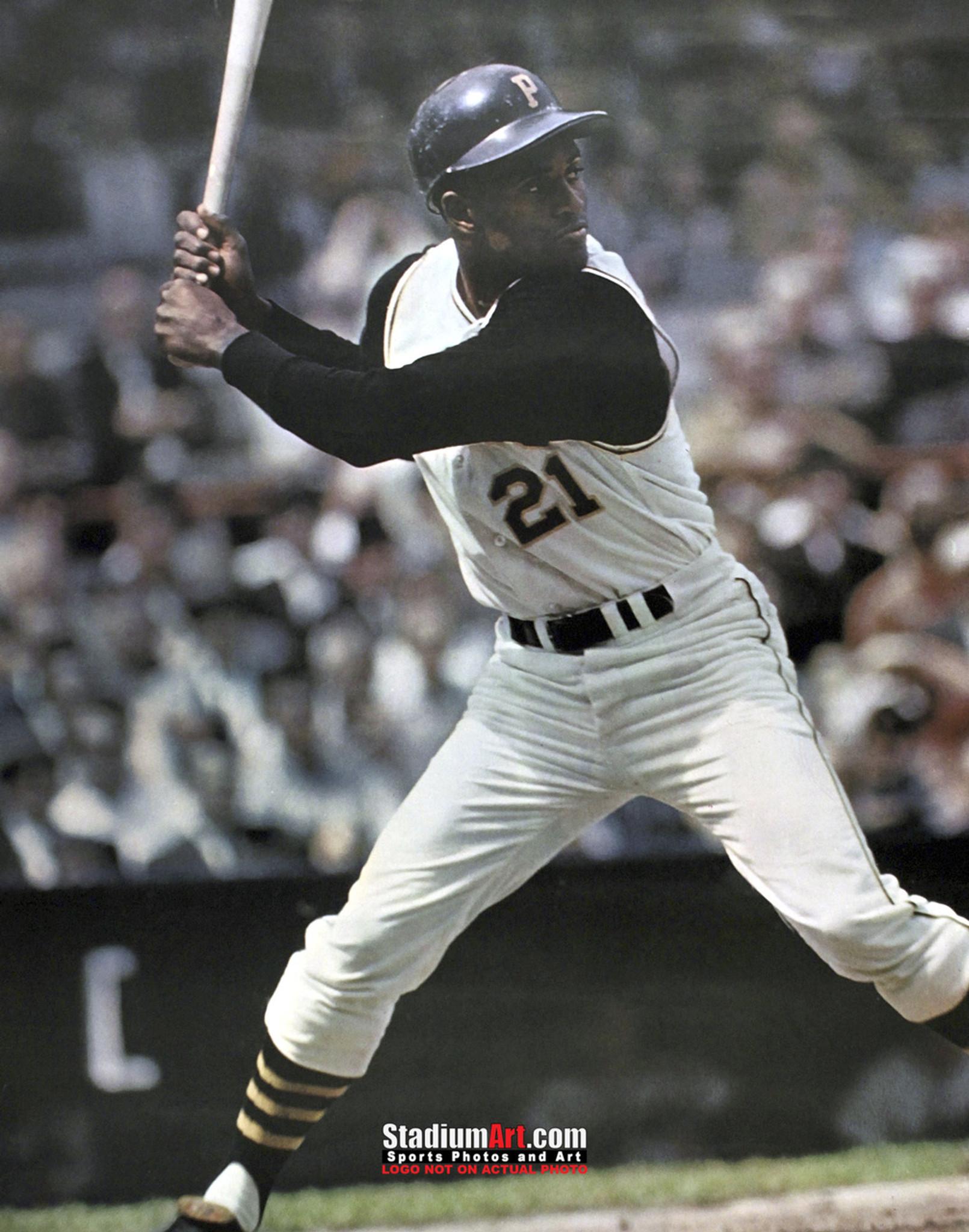 sports shoes e0e19 ef052 Pittsburgh Pirates z Roberto Clemente Baseball Player 8x10-48x36 Photo  Print 53
