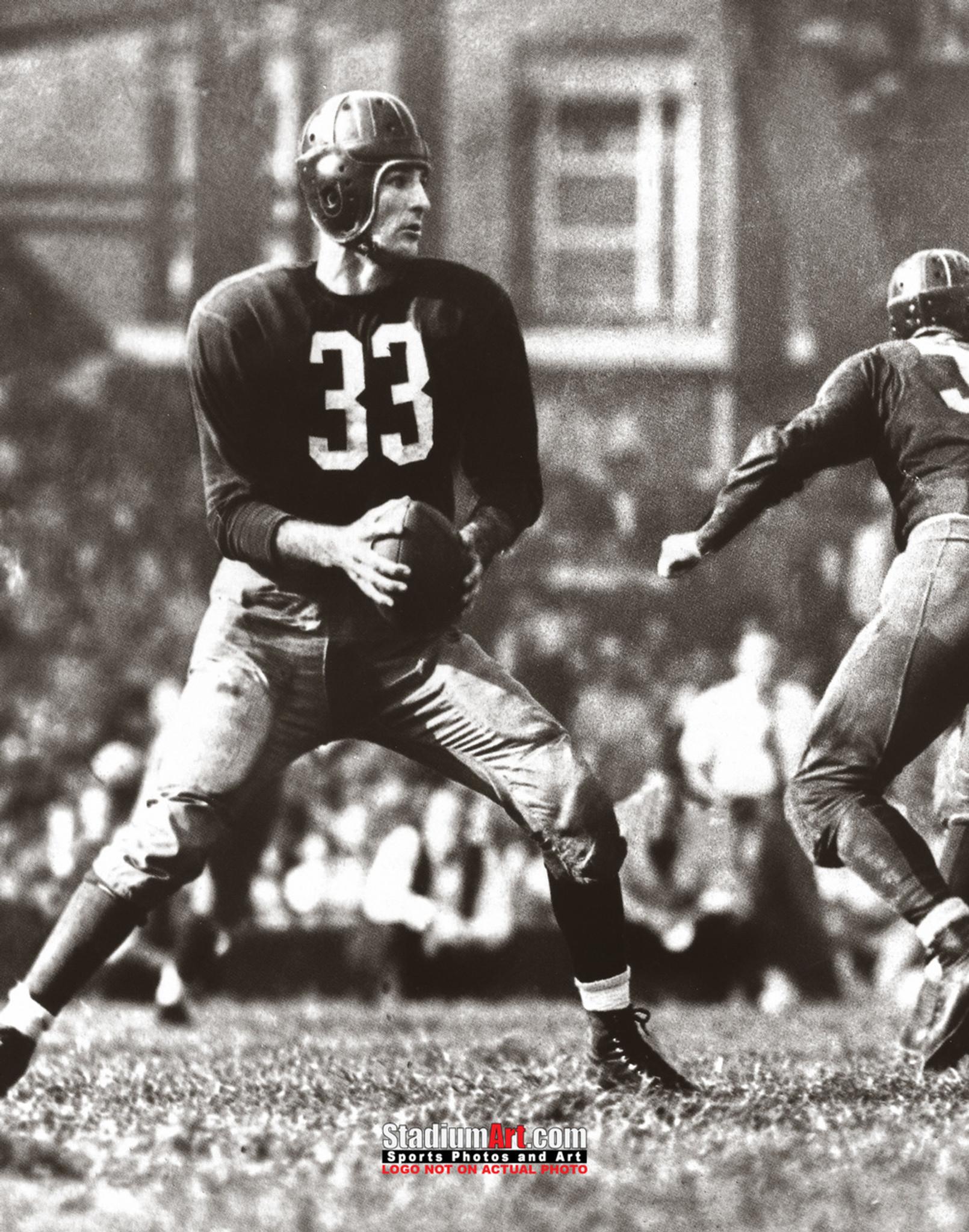 Sammy Baugh Washington Redskins Slingin' Samuel Adrian 8x10 to 48x36