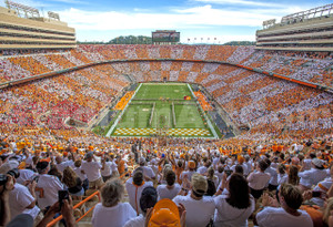 Tennessee Volunteers Neyland Stadium 13x19