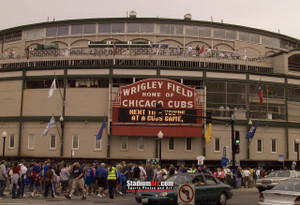 Chicago Cubs Wrigley Field MLB Baseball Photo 40 8x10-48x36