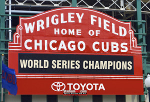 Chicago Cubs Wrigley Field MLB Baseball Photo 01 8x10-48x36