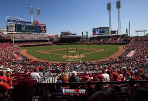 Cincinnati Reds Great American Ball Park Ballpark MLB Baseball Stadium Photo 04 8x10-48x36