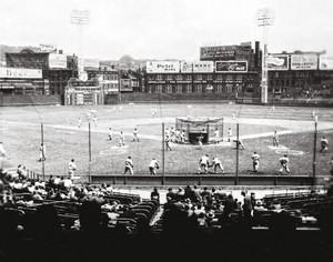 Cincinnati Reds z Crosley Field Ballpark MLB Baseball Stadium Photo 11 8x10-48x36