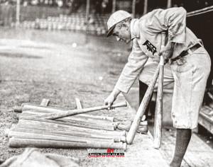 Detroit Tigers Ty Cobb Baseball Photo Print 54 8x10-48x36