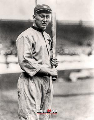Detroit Tigers Ty Cobb Baseball Photo Print 62 8x10-48x36