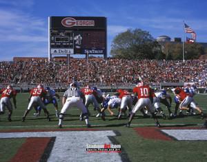 Georgia Bulldogs Sanford Stadium Football Field Photo Print 20 8x10-48x36