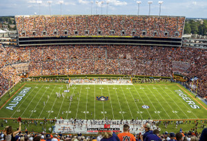 Auburn Tigers Jordan Hare Football Stadium Photo 8x10-48x36 Print 07